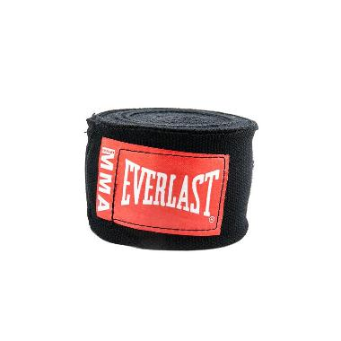 Everlast MMA Handwraps - Black [100 Inch]