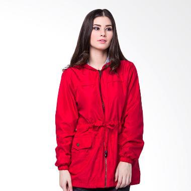 Evio 412 Woman Parka Jacket Wanita - Merah