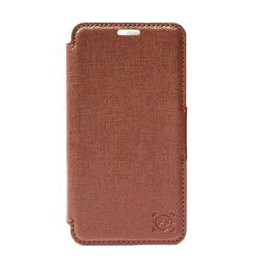 Fashion selular Marvel Casing for Xiaomi Redmi 2 - Brown