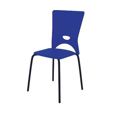 Fcenter M-FC003 Food Court Chairs - Biru