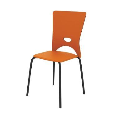 Fcenter M-FC003 Food Court Chairs - Orange