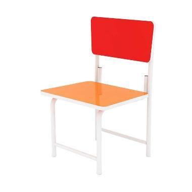 FCENTER MSR-5134 Kursi Belajar - Orange Red ( Pulau Jawa*)