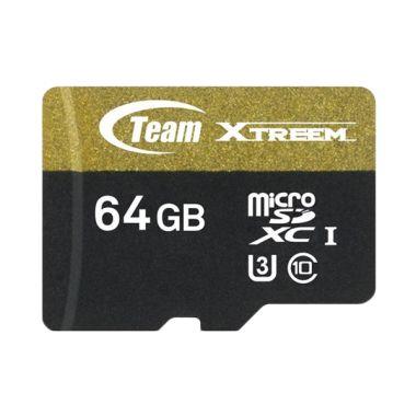 Team UHS-3 Speed Xtreem Memory Card [64 GB]