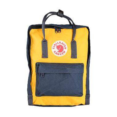Fjallraven Kanken 23510 Tas Ransel - Navy Warm Yellow