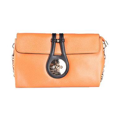 Flondeno H1366 1531 Clutch Bag - Orange