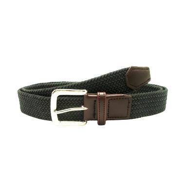 Fon Belt Sherman Ikat Pinggang - Dark Grey