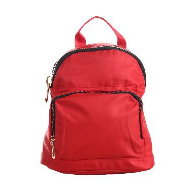Fortune Mouse Women Fashion Tas Ransel - Red