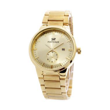 Fortuner S30015 Gold Jam Tangan Pria