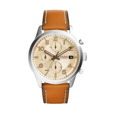 Fossil Daily Chronograph FS5140 Jam Tangan Pria - Silver