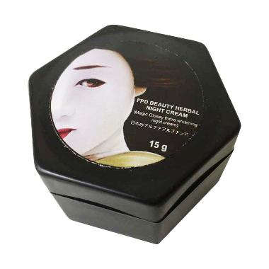Fpd Magic Glossy Beauty Herbal Night Cream [15gr]