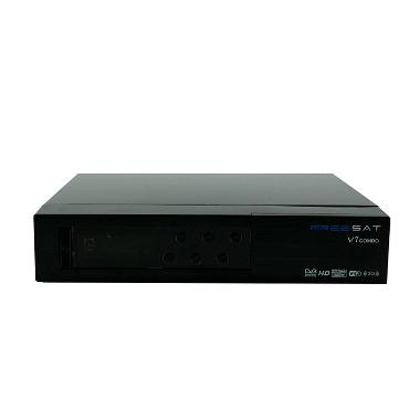 Freesat V7 Combo Receiver Parabola dan Set Top Box TV Digital DVB-T2