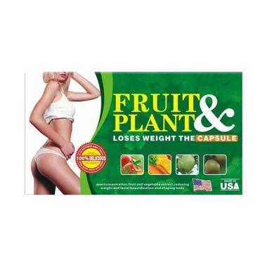 Vitality & Healthy Pelangsing Super Cepat Fruit & Plant