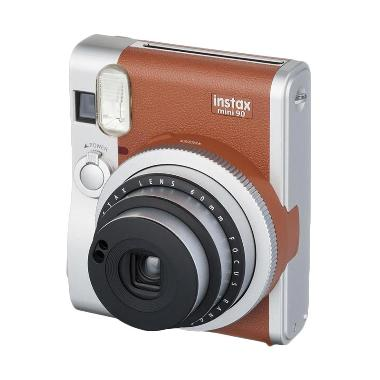 Fujifilm Instax Mini 90 Brown Kamer ... assic instaxshop - Coklat