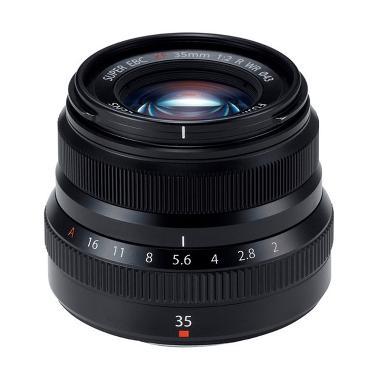 Fujifilm Fujinon XF 35mm F2.0 R WR Lensa Kamera - Hitam
