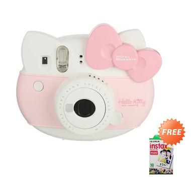 FUJIFILM Instax Hello Kitty Package Free Paper Hello Kitty 1 Pack