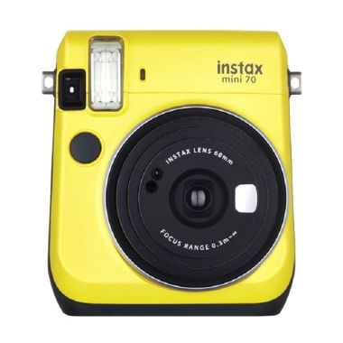 Fujifilm Instax Mini 70 Yellow Kamera Polaroid