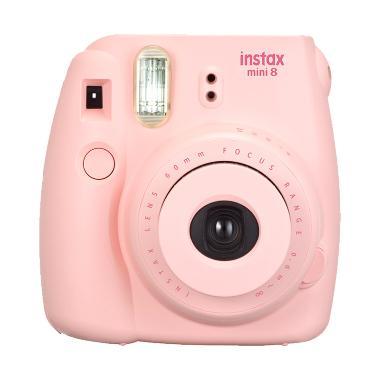 Fujifilm Instax Mini 8 Pink Kamera  ... E 1 PACK INSTAX MINI FILM