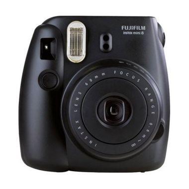 Fujifilm Instax Mini 8 Kamera Polaroid - Black