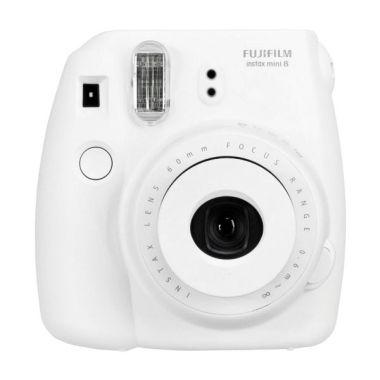 Fujifilm Instax Mini 8 Putih Kamera Polaroid