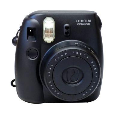Fujifilm Instax Mini 8S Kamera Polaroid - Black