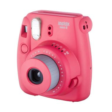 Fujifilm Instax Mini 8S Raspberry Kamera Polaroid