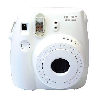 Fujifilm Instax Mini 8S White Kamera Pocket