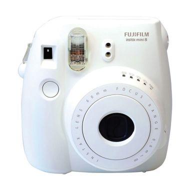 Fujifilm Instax Mini 8S White Kamera Polaroid