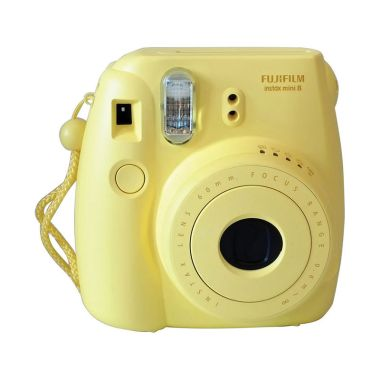 Fujifilm Instax Mini 8S Kamera Polaroid - Yellow