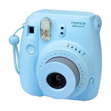 Fujifilm Instax Mini 8s Biru Kamera Polaroid Instaxshop