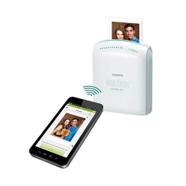 Fujifilm Instax SHARE Smartphone SP-1 Putih Portable Printer