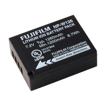 Fujifilm NP-W126 Baterai Kamera [1260 mAh]