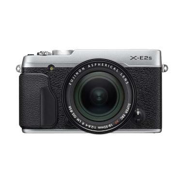 Fujifilm X-E2S Kit 18-55mm Kamera Mirrorless - Silver Hitam