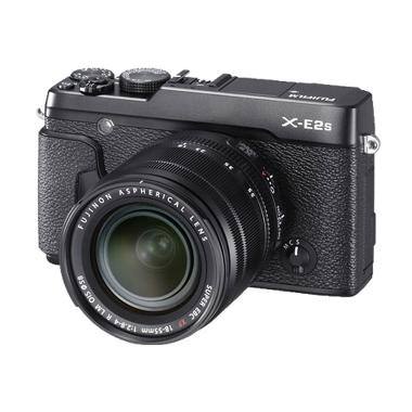 Fujifilm X-E2S Kit XF 18-55mm Kamera Mirrorless - Hitam