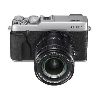 Fujifilm X-E2S Kit XF 18-55mm Kamera Mirrorless - Silver