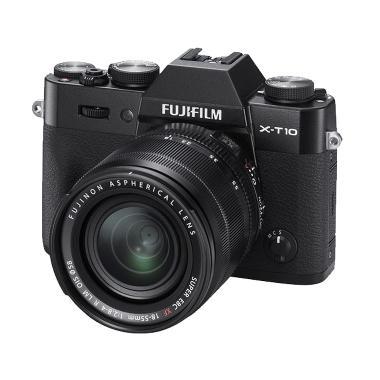 Fujifilm X-T10 Kit 18-55mm Mirrorless Kamera - Black