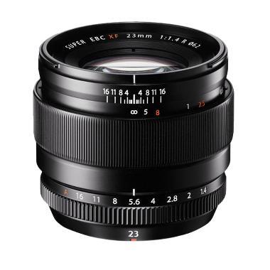 Fujifilm XF 23mm F/1.4 R Lensa Kamera - Black