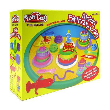harga Fun Doh Makin Birthday Cake Mainan Anak - Blibli.com