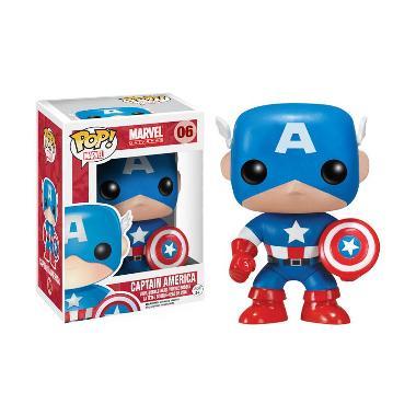 Funko Pop Marvel - Captain America Classic 2224 Mainan Anak