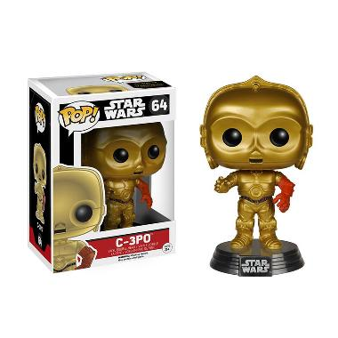 Funko POP Star Wars Episode VII-The Force Awakens C-3PO Mainan Anak