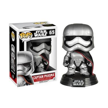 Funko POP Star Wars Episode VII - The Force Awakens Captain Phasma Mainan Anak