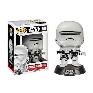 Funko POP Star Wars Episode VII-The Force Awakens First Order Flametrooper Mainan Anak