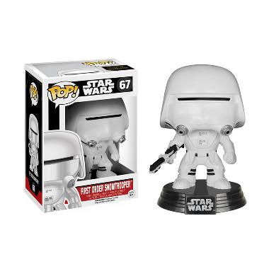 Funko POP Star Wars Episode VII-The Force Awakens First Order Snowtrooper Mainan Anak