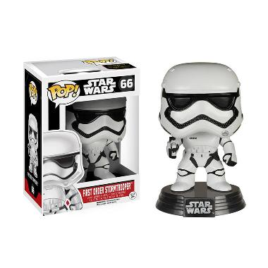Funko POP Star Wars Episode VII-The Force Awakens First Order Stormtrooper Mainan Anak