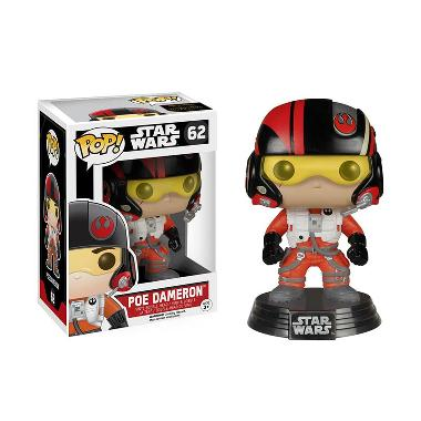 Funko POP Star Wars Episode VII - The Force Awakens Poe Dameron Mainan Anak