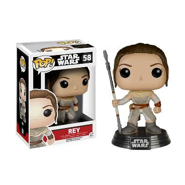 Funko POP Star Wars Episode VII - The Force Awakens Rey Mainan Anak