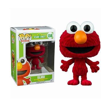 Funko POP Vinyl Figure Elmo Flocked Sesame Street Action Figure