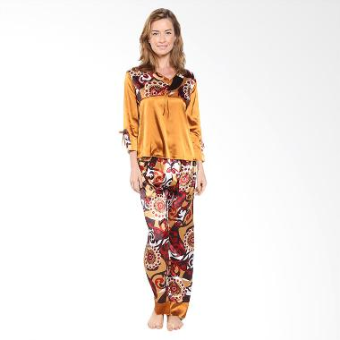 Funny Me FM-2073-B Coklat Baju Tidur Wanita
