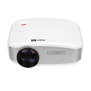 G-HOLIC C6 HD Mini Portable LED Projector [1200 Lumens]