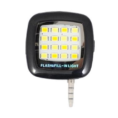 G-Smart Hitam Flash Lampu Selfie untuk Handphone