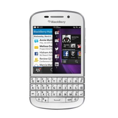 BlackBerry Q10 White Smartphone     ...